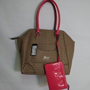 Guess Bags - Guess G logo women's shoulder handbag NWT